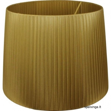 Šviestuvo gaubtas PRESS 37x50 cm auksinis