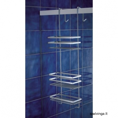Pakabinama vonios lentynėlė SATINA 25X12X79