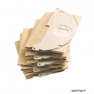 Popieriniai filtro maišeliai, 5 vnt. KARCHER
