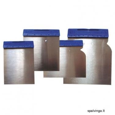 Glaistiklių komplektas, 4 vnt.: 5, 8, 10, 12 cm PROFIX