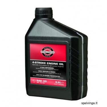 Variklių alyva žoliapjovėms B&S 4T 0,6L AGROMA