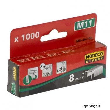 Kabės 8 mm, tipas: 11 MODECO EXPERT