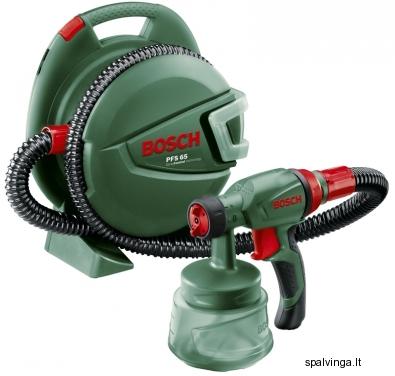 Dažų purkštuvas Bosch PFS 65