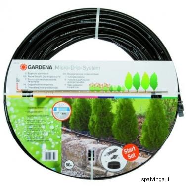 Antžeminė lašinio drėkinimo linija MICRO-DRIP 1385 GARDENA