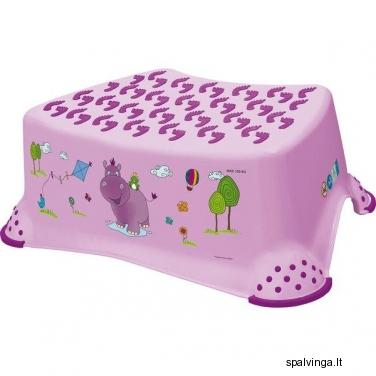 Vaikiška palipa-kėdutė HIPPO (lelijų spalvos)