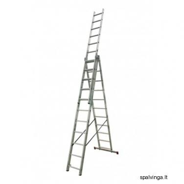 Daugiafunkcinės kopėčios 3X11 CORDA KRAUSE 6.45M