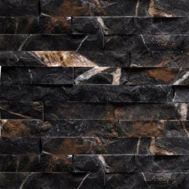 Nartūralus akmuo ŁUPEK MARMUR DARK (0,55 m2)