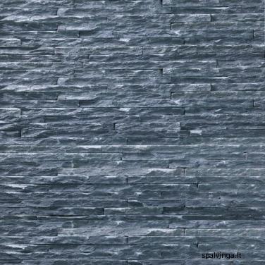 Natūralus akmuo WALL CRAZY BLACK (0,54 m2)
