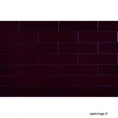 Fasado apdailinė plyta SZKLIWIONA 245X65X6.5 vyšnios spalvos (0.5 m2)