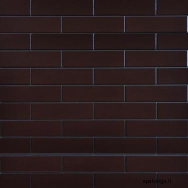 Fasado apdailinė plyta SZKLIWIONA 245X65X6.5 rudos spalvos (0,5 m2)