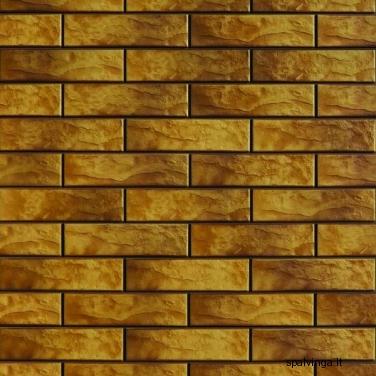Fasado apdailinė plyta RUSTIKO NEVADA 245X65X6.5  (0,5 m2)