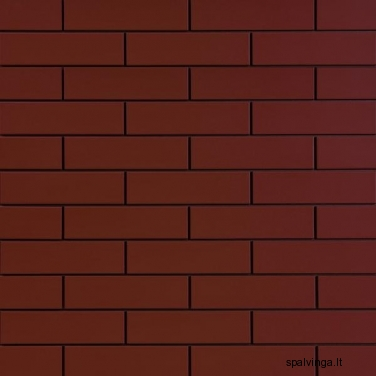 Vienspalvė fasado apdailinė plyta 245X65X6.5 BURGUND (0,5 m2)
