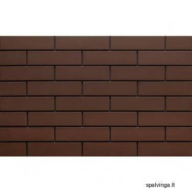 Fasado apdailinė plyta rudos spalvos 245X65X6.5 (0.5 m2)