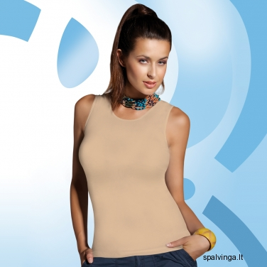 Babell medvilniniai marškinėliai ALITA (kūno spalvos)