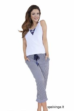 Babella pižama baltos spalvos 3010 (limituota versija)