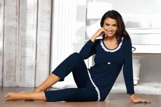 Babella pižama TELIA (tamsiai mėlynos spalvos)