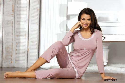 Babella pižama TELIA (magnolijos spalvos)