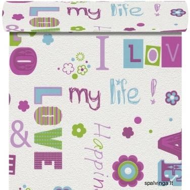 Viniliniai tapetai su flizelinu LOVE 478419