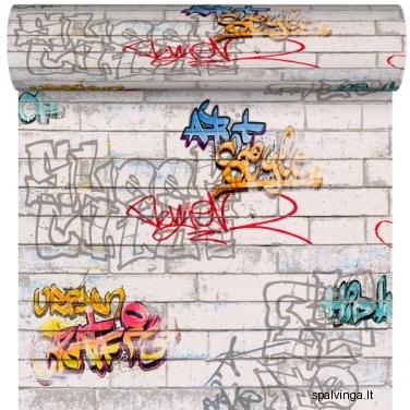 Popieriniai tapetai GRAFITTI