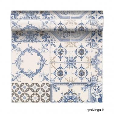 Viniliniai tapetai popieriaus pagrindu SPANISH TILES POLAMI