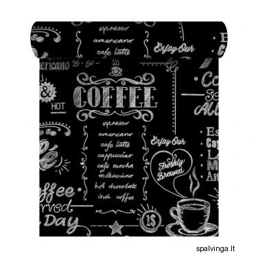 Viniliniai tapetai flizelino pagrindu COFFEE SHOP GRAHAM & BROWN