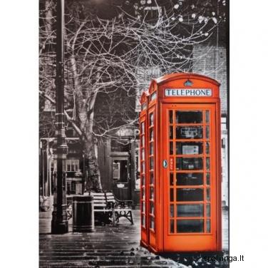 Fototapetai RED TELEPHONE 183x254 cm