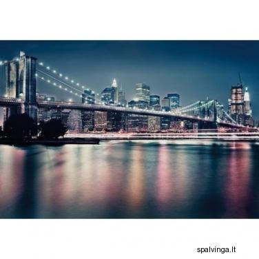 Fototapetai BRIDGE NIGHT 254 x 368 cm VENA
