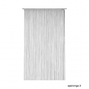 Durų uždanga INSPIRE 140x250 cm (pilka)