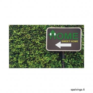 Durų kilimėlis HOME SWEET HOME 45 x 75 cm INSPIRE