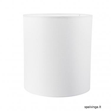 Šviestuvo gaubtas PLAUNAMAS 25/25x30 cm E27 baltas