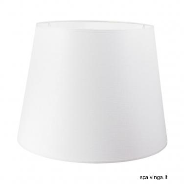 Šviestuvo gaubtas PLAUNAMAS 30/40x27 cm E27 baltas