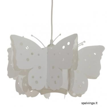 Pakabinamas šviestuvas DRUGELIS 60W E27