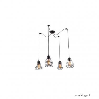 Pakabinamas šviestuvas IMPERIA 4 x 60 LIGHT PRESTIGE