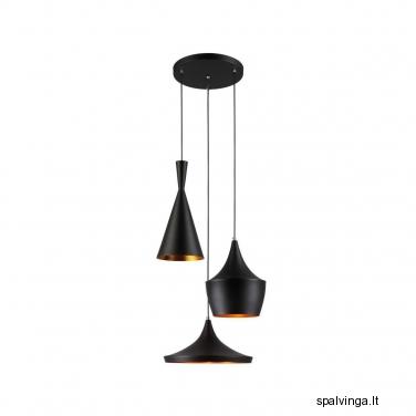 Pakabinamas šviestuvas METAURO 3 x 60 ITALUX