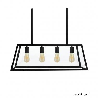 Pakabinamas šviestuvas FINLAND 4x60 IL MIO