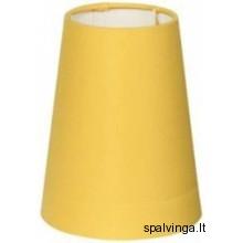 Šviestuvo gaubtas KLASYK A12 B1 geltonos spalvos