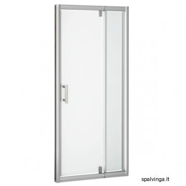 Dušo durys+sienelė OPTIMA 98-122X190