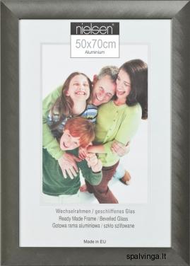 Aliumininis fotografijų rėmelis STAR, sidabrinis