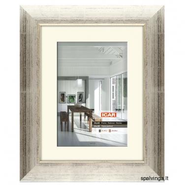 Medinis fotografijų rėmelis SABINA, sidabrinis