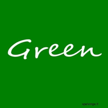 Reprodukcija GREEN 20X20 CARO