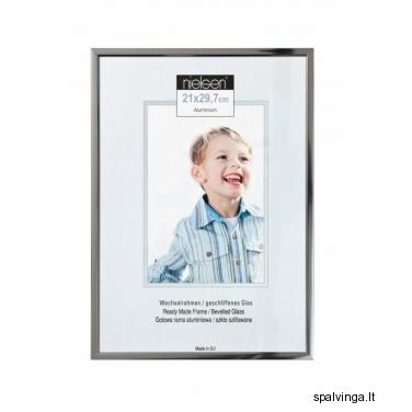 Aliumininis fotografijų rėmelis BASIC 25, plienas