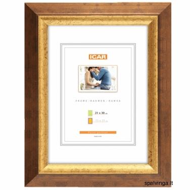 Medinis fotografijų rėmelis IRMA EXW-A59, auksinis