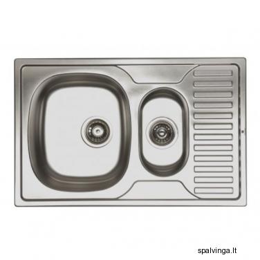 Virtuvės kriauklė ORION 1.5K0.5O 50X78