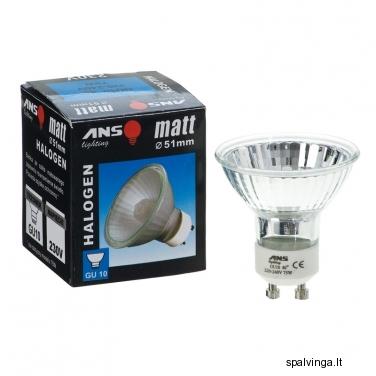 Halogeninė lemputė GU10 ANS, reflektorinė