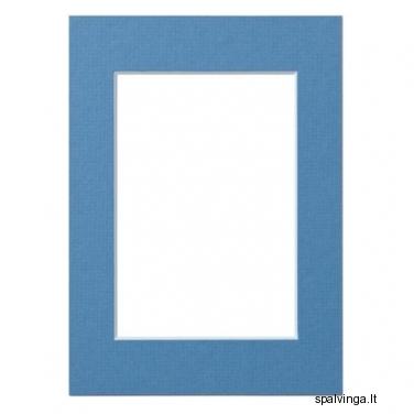 Paspartu SLATE BLUE 30X40