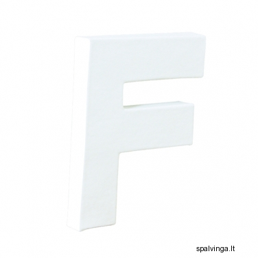 Raidė F 12X10.5X1.5