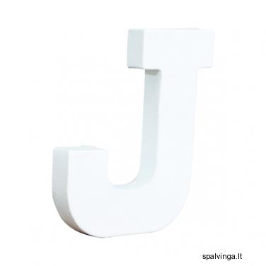Raidė J 12X10.5X1.5