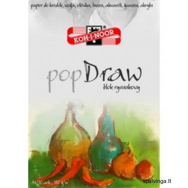 """Piešimo sąsiuvinys """"POP DRAW"""" A4 30 lapų"""