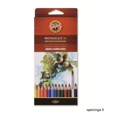 Kreidutės KOH-I-NOOR  MONDELUZ 24 spalvos