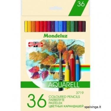 Kreidutės KOH-I-NOOR  MONDELUZ 36 spalvos